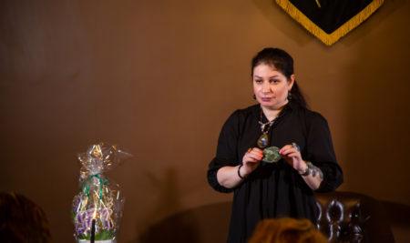 Первое очное занятие Международного Университета магии и колдовства. Практикум. Колдовская работа с камнями